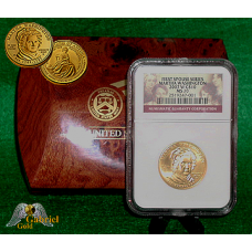 2007 M. Washington First Spouse Gold Coin NGC MS-70