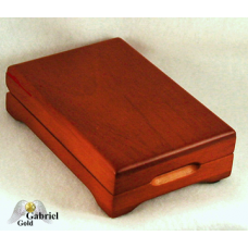 Redwood Finished Certified Coin Storage Box